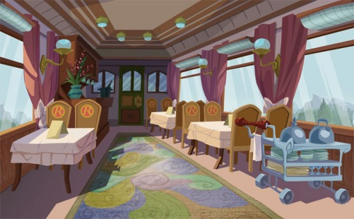 Intrigue on the Rodent Express – Rodent Express Dining Car