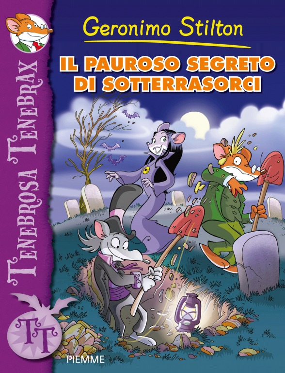 Creepella von Cacklefur #2: Meet Me in Horrorwood: A Geronimo Stilton -ExLibrary